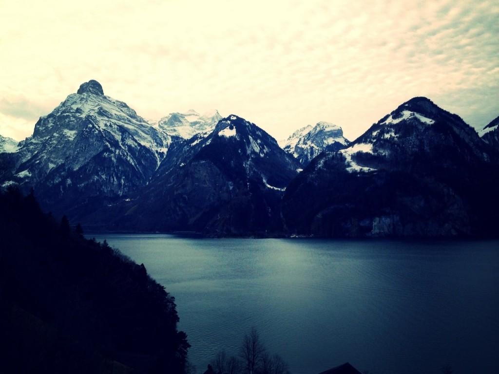 Lago in Svizzera